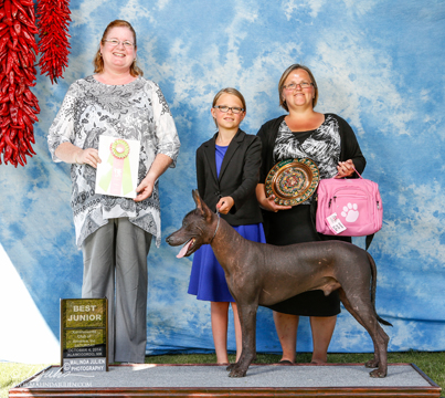 Again our sincere thanks to Xoloitzcuintli National Specialty